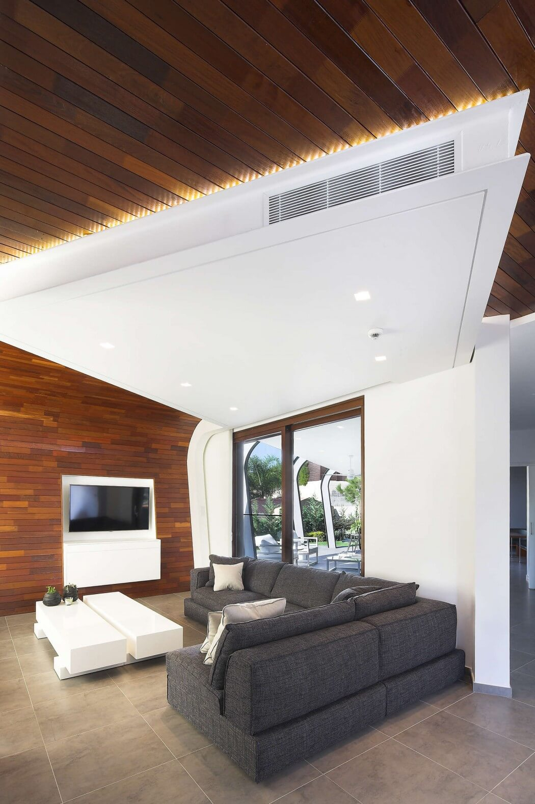 خانه Z ؛ الگویی از عناصر سازه ای در طراحی معماری