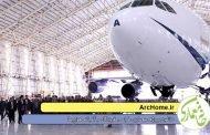 دانلود پروژه معماری طراحی فرودگاه و آشیانه هواپیما