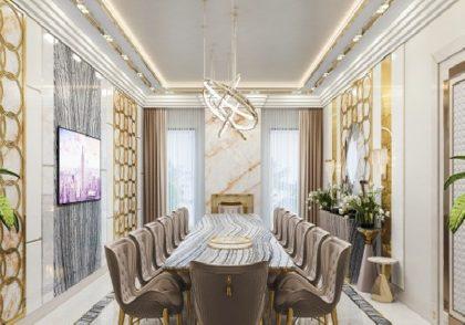 طراحی داخلی لوکس در خانه با روشی ارزان