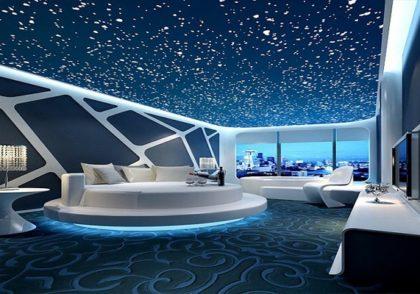 سقف کاذب و آسمان مجازی در دکوراسیون داخلی