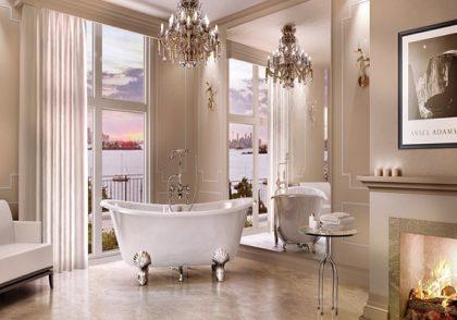سبک ویکتوریایی در طراحی حمام