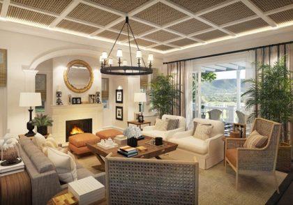 نکاتی برای طراحی داخلی سالن پذیرایی منزل