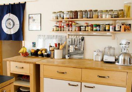 سازماندهی آشپزخانه های کوچک