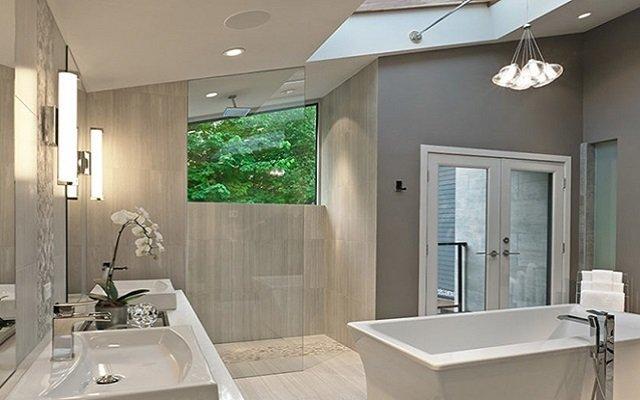 درب مناسب برای حمام ساختمان