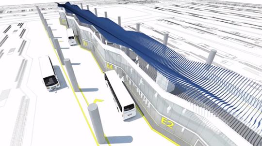 طراحی معماری ترمینال مسافربری