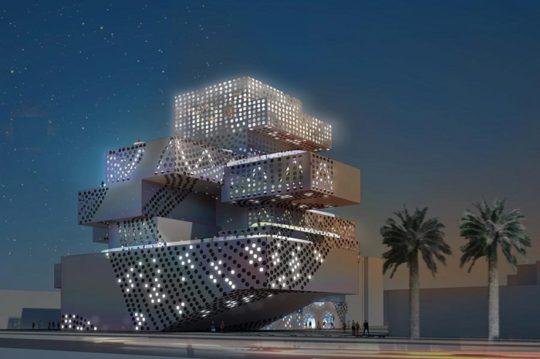 مطالعات معماری طراحی مرکز موسیقی