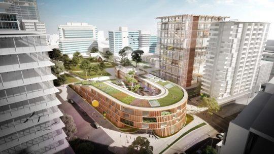 مطالعات معماری طراحی مجتمع مسکونی
