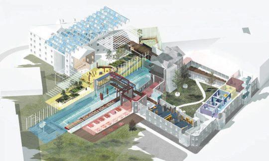 طراحی معماری دانشکده معماری