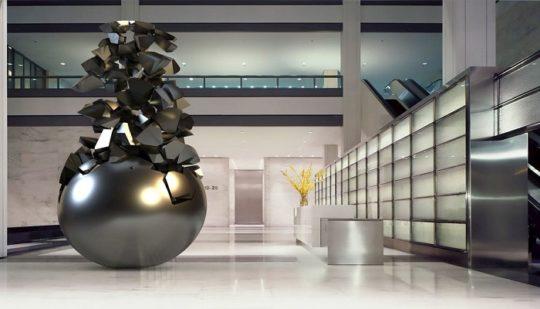 مطالعات طراحی موزه هنر و مجسمه سازی