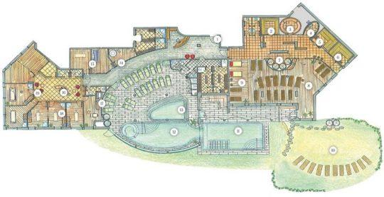 پروژه طراحی هتل ۸ طبقه
