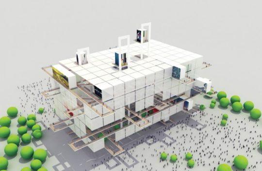 پروژه کامل طراحی موزه