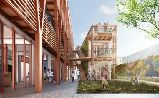 پروژه معماری خانه کودکان بی سرپرست