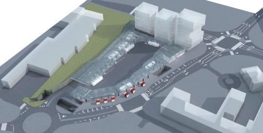 پروژه کامل ایستگاه اتوبوس