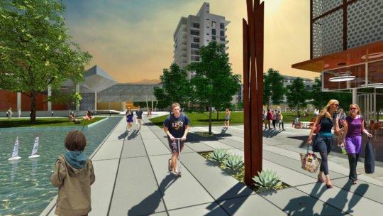رساله ارشد طراحی معماری سیتی سنتر