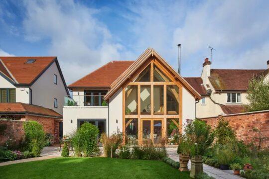 25 مورد از طرح های الهام بخش خانه های فریم چوبی